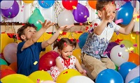 Födelsedagskalas barn