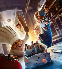 Råttatouille i Disneyland