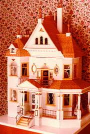 """Klassiskt amerikanskt """"dollhouse"""""""