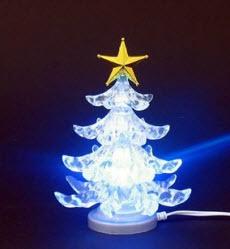 Julpynt i form av en USB-julgran