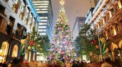 Julpyntat och fint i Australiens största stad