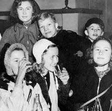 """""""Sport"""" och """"lov"""" - bild från DN, 1941"""