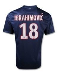 Paris Saint Germain fotbollströja med nummer 18